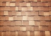 pic of roof tile  - Background texture of the tile on the roof - JPG