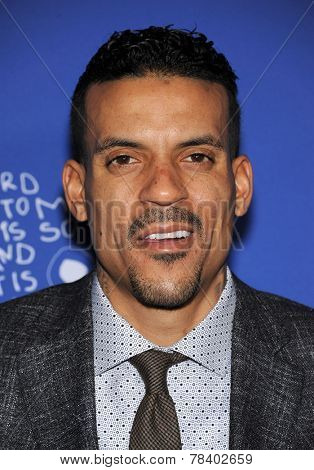 LOS ANGELES - DEC 04:  Matt Barnes arrives to the 2014 Beat The Odds on December 04, 2014 in Culver City, CA