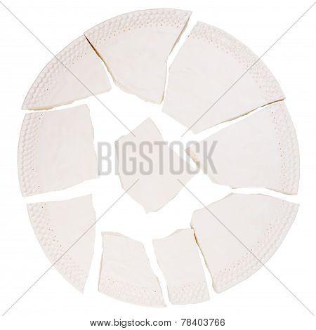 Broken Ceramic Plate