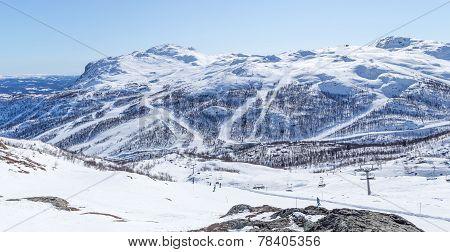 Norwegian ski slopes