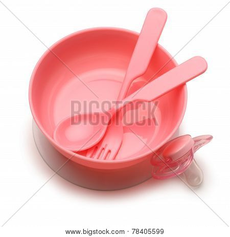 Bowl And Spoon