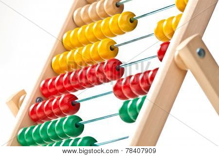 image of classic wood abacus