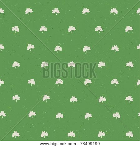 St'Patricks day seamless pattern textured