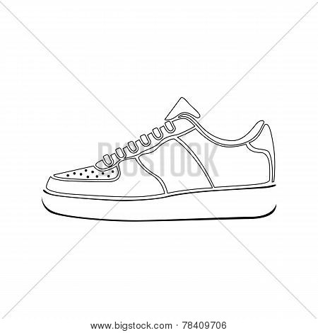 sport, clothing, white, footwear, fashion, isolated,