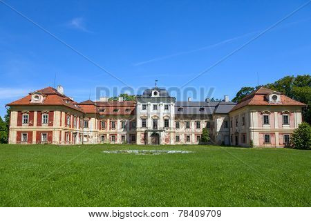 Dolni Lukavice castle in the Czech Republic