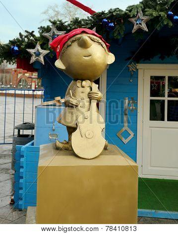 Gnome In A Red Cap