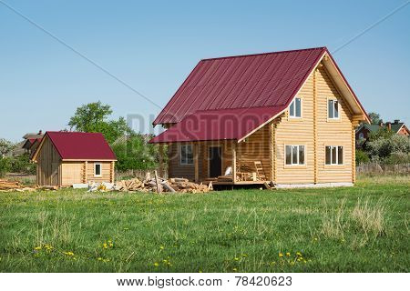 A Small Wooden House, May