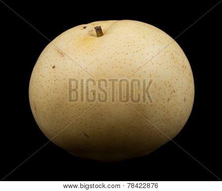 One nashi pear fruit