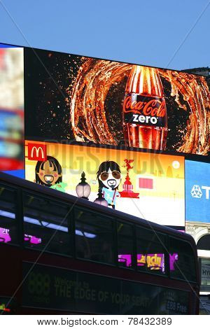 Billboard Piccadilly Circus