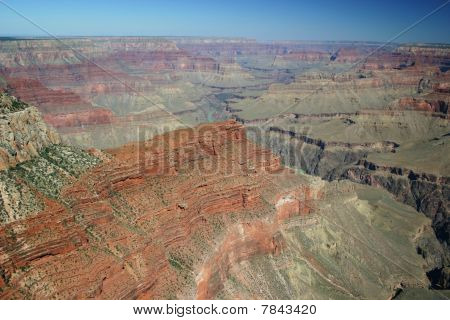 Color photo of the Grand Canyon