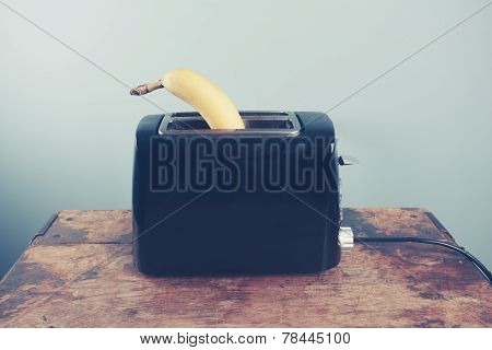 Banana In A Toaster