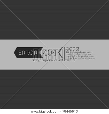 Oops. 404 error. Sorry, page not found.
