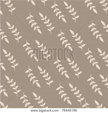Pastel brunch hand drawn pattern.