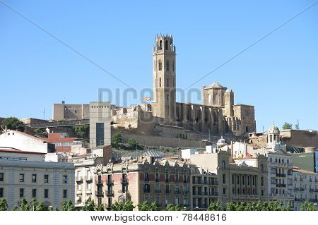 The Seu, Old Cathedral, Of Lleida. Catalonia, Spain.