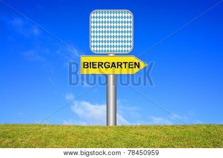 Yellow Sign Beergarden