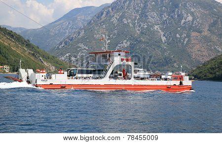Sea Ferry Boat