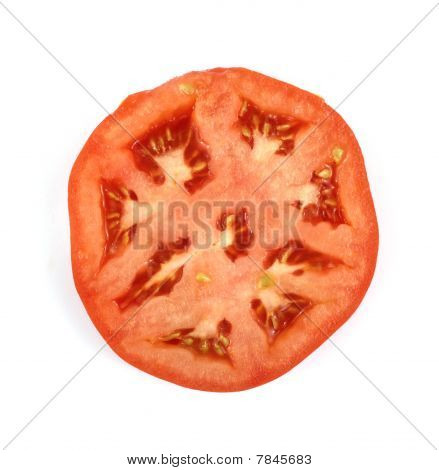 Overhead View Tomato