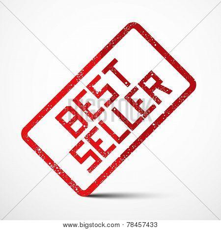 Best Seller Vector Red Stamp
