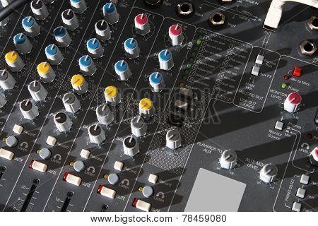 Audio Mixer Equipment