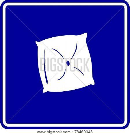pillow cushion sign