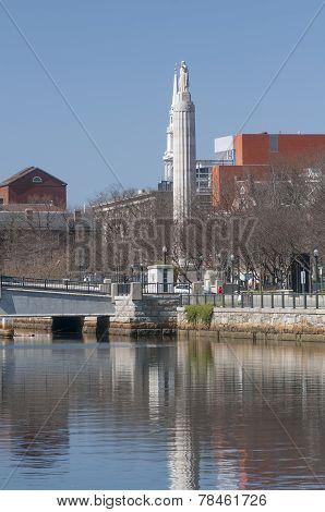 Memorial On River