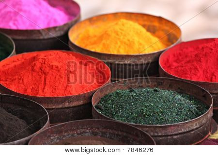 Colored Powders