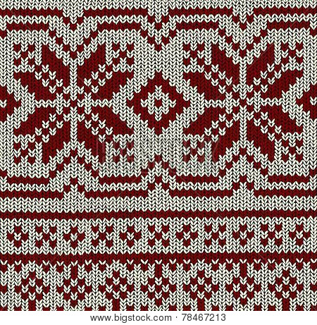 Norwegian Pattern - Christmas Vector