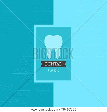 Dental  care label.