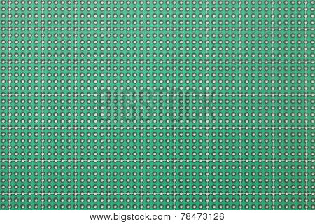 printed circuit board, many holes, seamless pattern background texture
