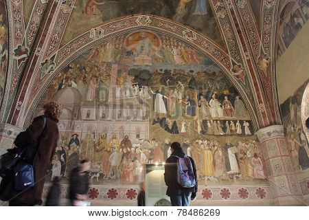 The Spanish Chapel In Florence