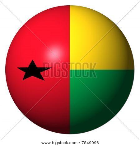 Guinea Bissau Flag Sphere