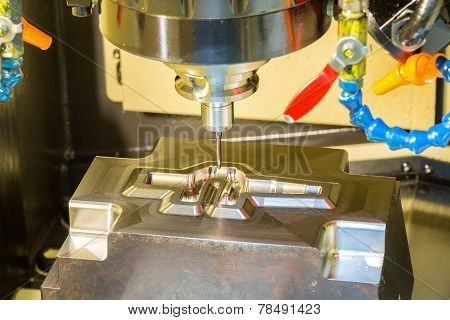 Cnc Machining Center Cutting Forging Die By Endmill Cad Cam