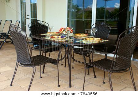 Outdoor Table For Four