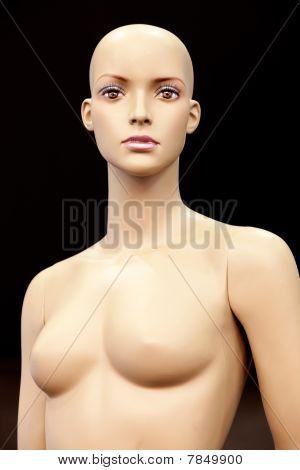 Bald Girl Mannequin