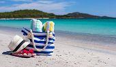 picture of beach hat  - Beach bag - JPG