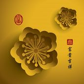 foto of chinese calligraphy  - Chinese New Year - JPG