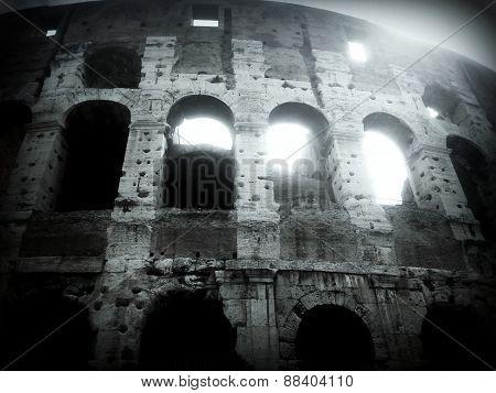 Rome Colosseum amphitheatre