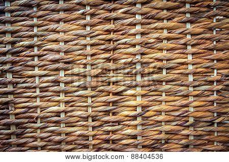 wicker fence background