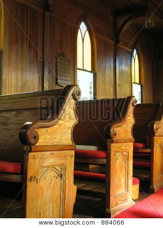 Old Church Pews