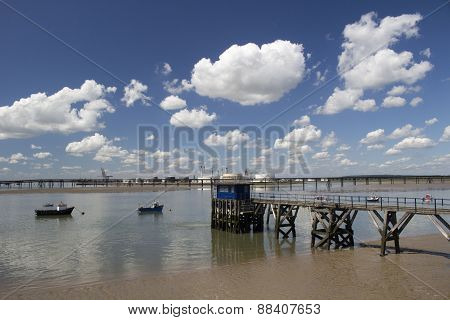 Holehaven Creek, Canvey Island, Essex, England