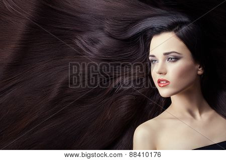 Lot Of Hair In Women.