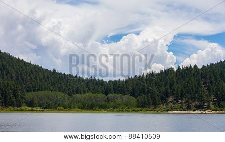 Lake Tahoe - Cloudscape With Copy Space