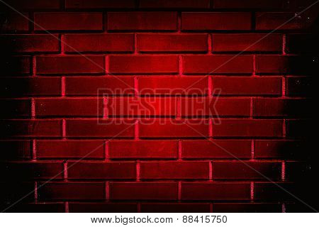 background  red wall