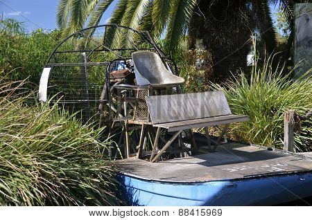 Antique airboat