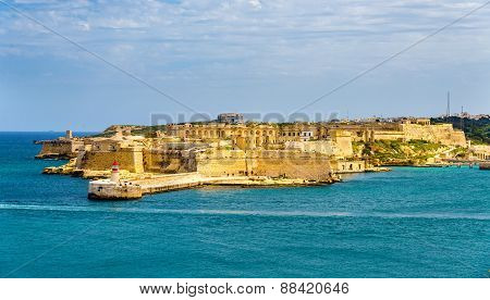 View Of Fort Ricasoli Near Valletta - Malta