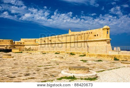 Fort Saint Elmo In Valletta - Malta