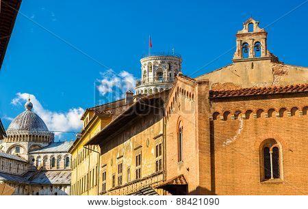 Church San Giorgio Ai Tedeschi In Pisa - Italy