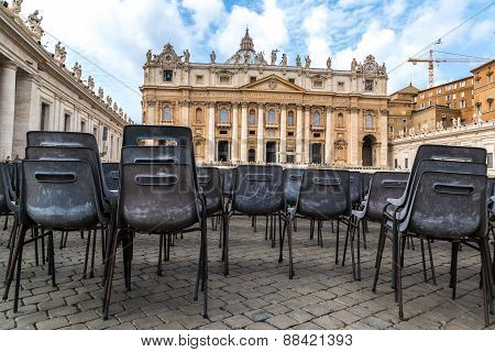 Vatican In A Summer Day