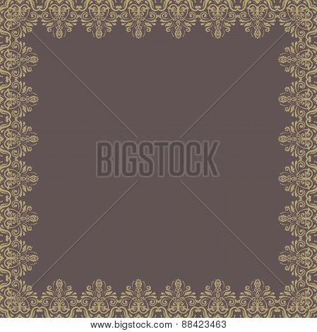 Floral Modern  Frame