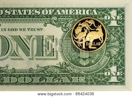 American and Australian Currency